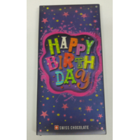 3D Geschenkschokolade Happy Birthday Color